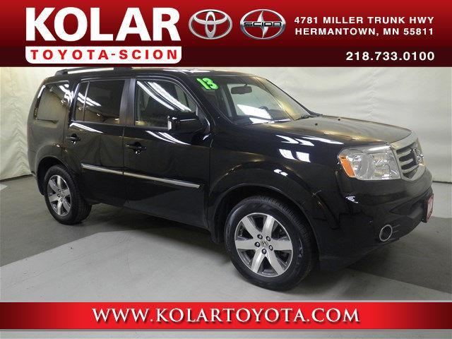 2013 honda pilot touring 4x4 touring 4dr suv for sale in duluth minnesota classified. Black Bedroom Furniture Sets. Home Design Ideas