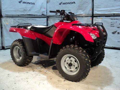 2013 Honda Rancher TRX 420 FE 4x4