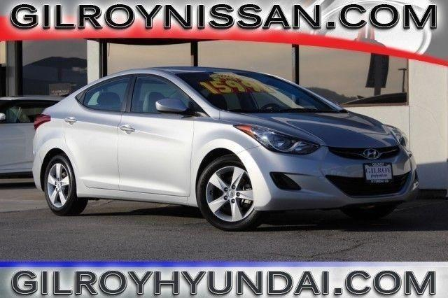 2013 hyundai elantra 4d sedan gls for sale in gilroy california classified. Black Bedroom Furniture Sets. Home Design Ideas