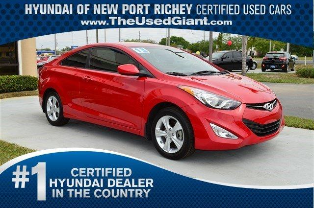 2013 hyundai elantra coupe gs 2dr coupe 6m for sale in new port richey florida classified. Black Bedroom Furniture Sets. Home Design Ideas