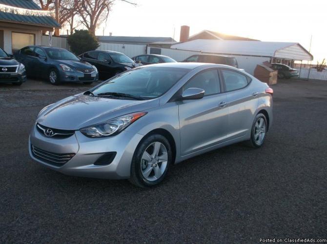 2013 Hyundai Elantra Gls For Sale In Amarillo Texas
