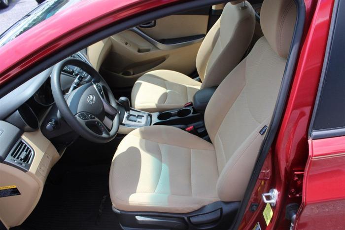 2013 hyundai elantra gls manual sedan