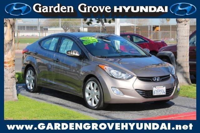 2013 Hyundai Elantra Limited Garden Grove Ca For Sale In