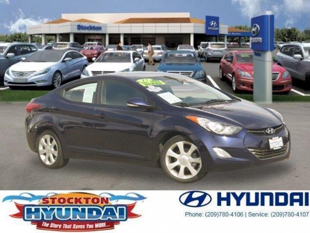 2013 Hyundai Elantra Limited Limited 4dr Sedan
