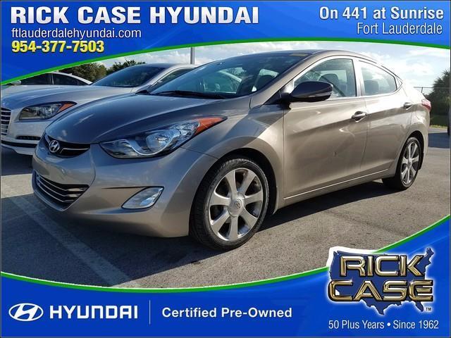 2013 Hyundai Elantra Limited Limited 4dr Sedan for Sale in