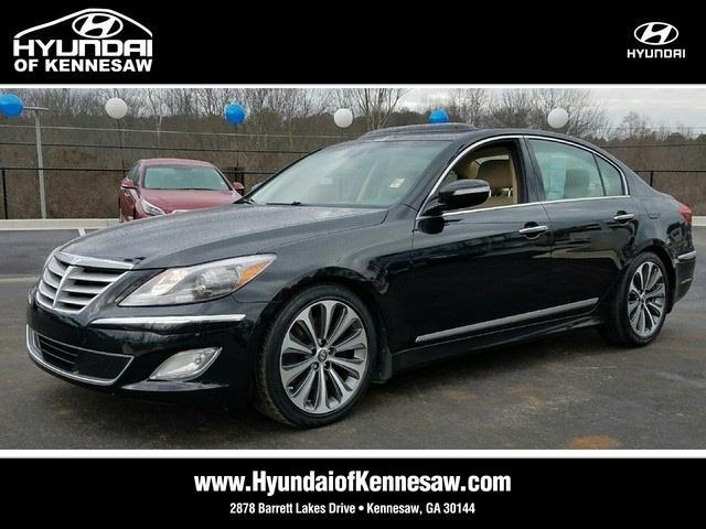 2013 hyundai genesis 5 0l r spec 5 0l r spec 4dr sedan for sale in barrett parkway georgia. Black Bedroom Furniture Sets. Home Design Ideas