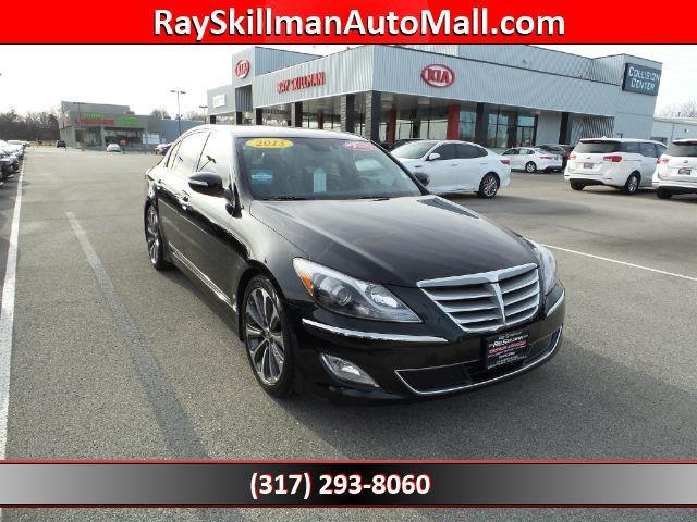 2013 hyundai genesis 5 0l r spec 5 0l r spec 4dr sedan for sale in indianapolis indiana. Black Bedroom Furniture Sets. Home Design Ideas