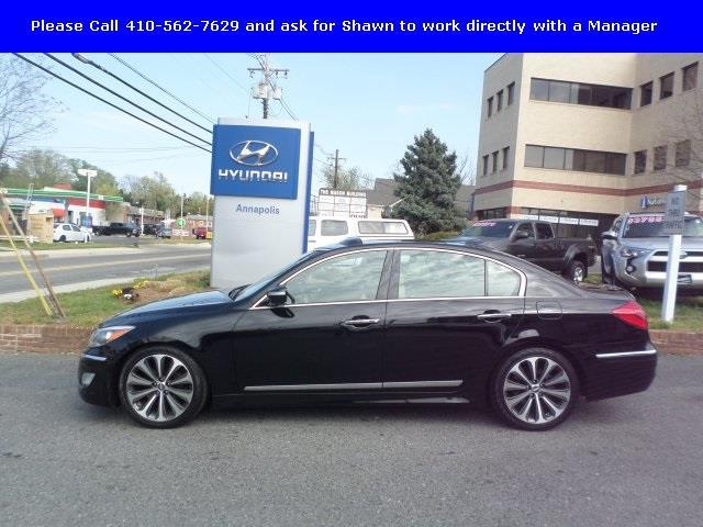 2013 hyundai genesis 5 0l r spec 5 0l r spec 4dr sedan for sale in annapolis maryland. Black Bedroom Furniture Sets. Home Design Ideas