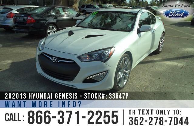 2013 Hyundai Genesis Coupe 38 Track - 6K Miles -