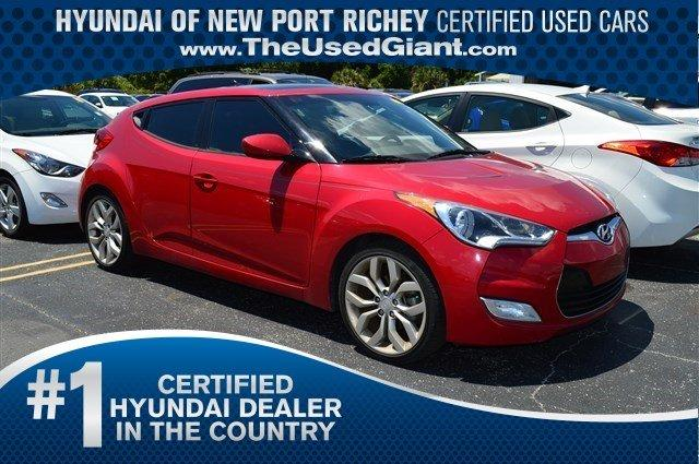 2013 hyundai veloster 3dr coupe dct w gray seats for sale in new port richey florida classified. Black Bedroom Furniture Sets. Home Design Ideas