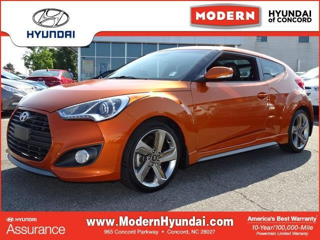 2013 Hyundai Veloster Turbo Base 3dr Coupe