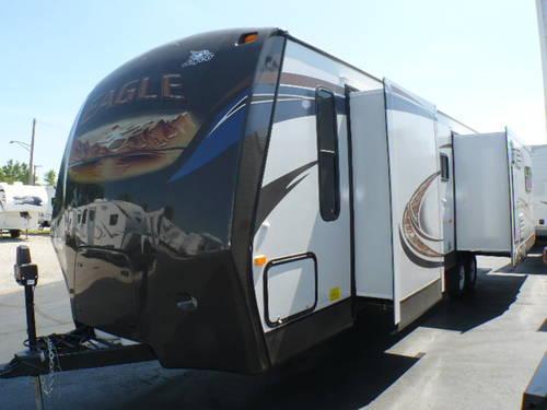 2013 Jayco Eagle 328rlts Travel Trailer 3 Slides Back