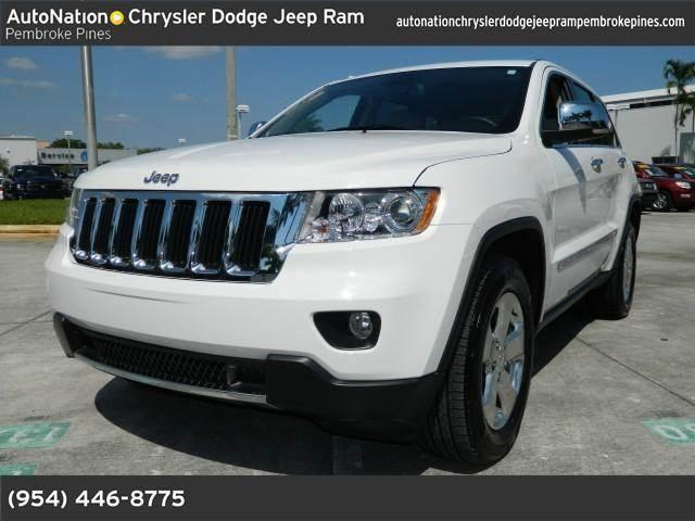 2013 jeep grand cherokee for sale in hollywood florida classified. Cars Review. Best American Auto & Cars Review