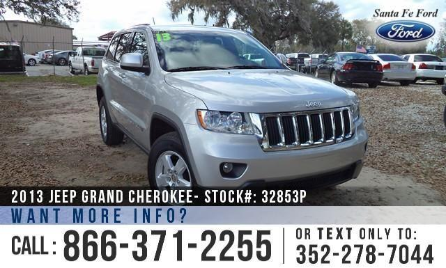 2013 Jeep Grand Cherokee Laredo - Warranty - Flex Fuel