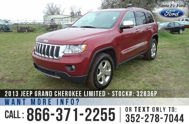 2013 Jeep Grand Cherokee Limited - 30K Miles - On-site