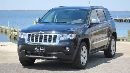 2013 jeep grand cherokee overland black 6032 for sale in kill devil. Cars Review. Best American Auto & Cars Review