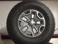 2013 Jeep Rubicon-5 Nitto tires and wheels