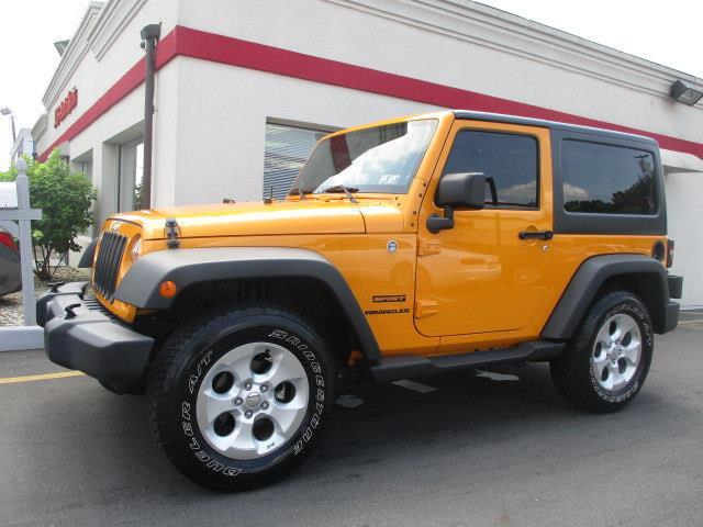 2013 jeep wrangler sport 4x4 sport 2dr suv for sale in trenton new jersey classified. Black Bedroom Furniture Sets. Home Design Ideas