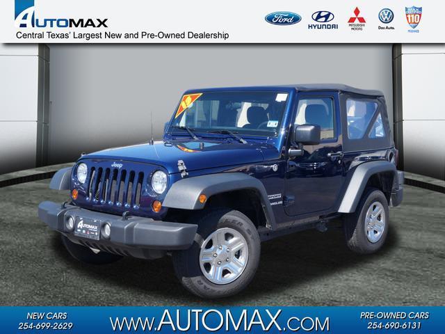 2013 jeep wrangler sport killeen tx for sale in killeen texas classified. Black Bedroom Furniture Sets. Home Design Ideas