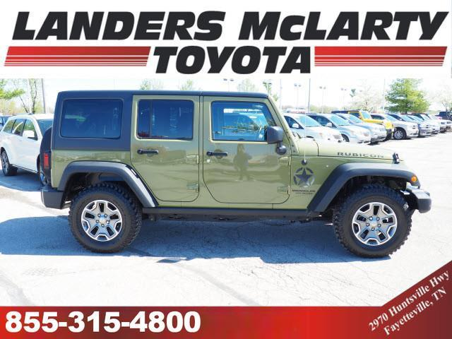 2013 Jeep Wrangler Unlimited Rubicon 4x4 Rubicon 4dr