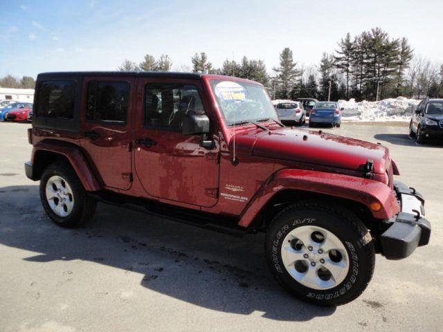 2013 jeep wrangler unlimited sahara for sale in lunenburg massachusetts classified. Black Bedroom Furniture Sets. Home Design Ideas