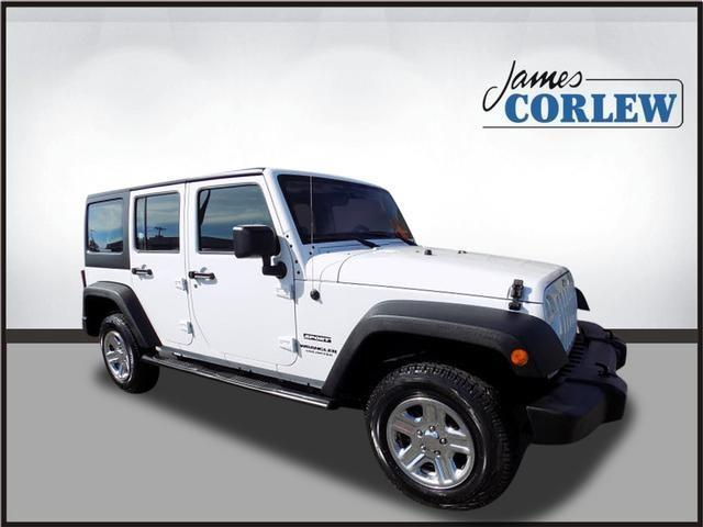 2013 Jeep Wrangler Unlimited Sport 4x4 Sport 4dr Suv For