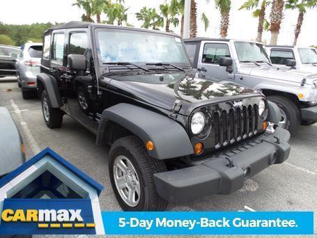 2013 jeep wrangler unlimited sport 4x4 sport 4dr suv for sale in jacksonville florida. Black Bedroom Furniture Sets. Home Design Ideas
