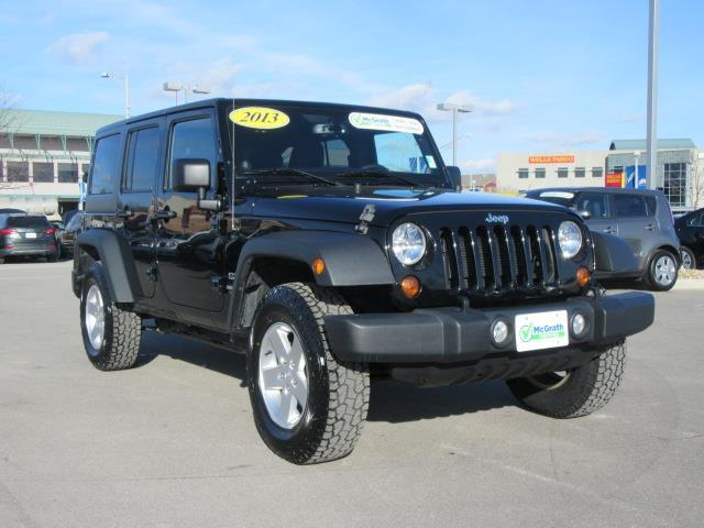 2013 jeep wrangler unlimited sport 4x4 sport 4dr suv for sale in dubuque iowa classified. Black Bedroom Furniture Sets. Home Design Ideas