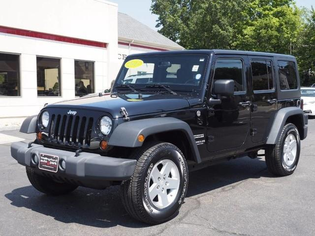 2013 jeep wrangler unlimited sport 4x4 sport 4dr suv for sale in wallingford connecticut. Black Bedroom Furniture Sets. Home Design Ideas