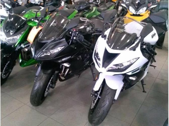 2013 Kawasaki Ninja ZX6R with low miles