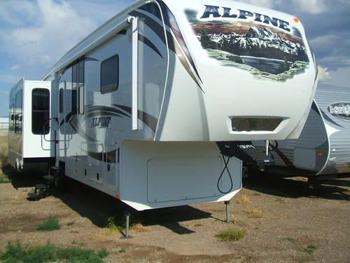 2013 Keystone Alpine 3450RL Luxury 5th Wheel For Sale In