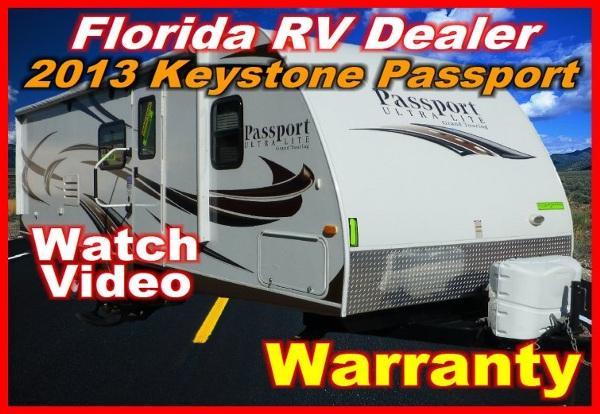 2013 keystone passport ultra lite grand touring 2510 r for sale in port charlotte florida. Black Bedroom Furniture Sets. Home Design Ideas