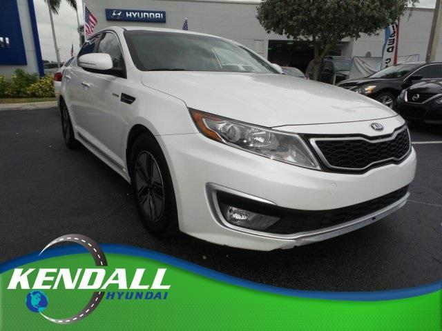 2013 Kia Optima Hybrid LX LX 4dr Sedan