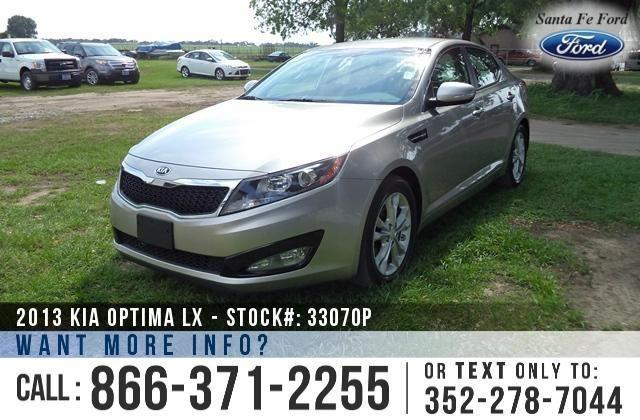 2013 Kia Optima LX - Warranty - Tinted Windows