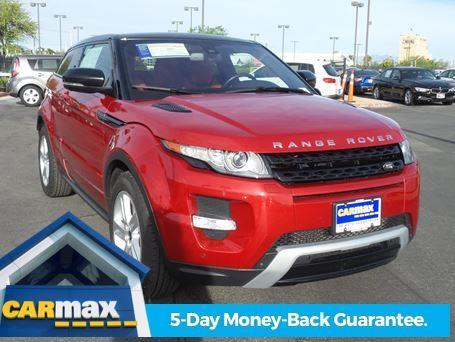 2013 Land Rover Range Rover Evoque Coupe Dynamic AWD