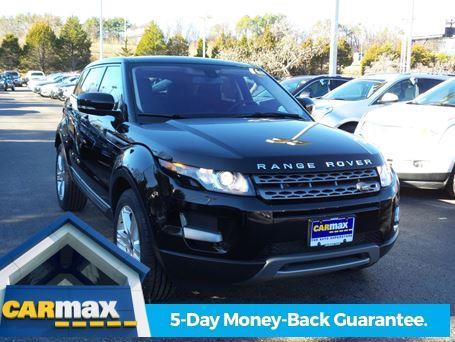 2013 Land Rover Range Rover Evoque Pure AWD Pure 4dr