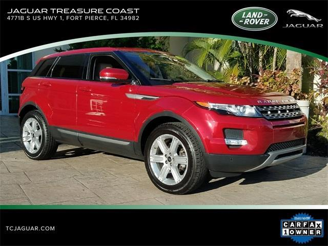 2013 Land Rover Range Rover Evoque Pure Plus AWD Pure