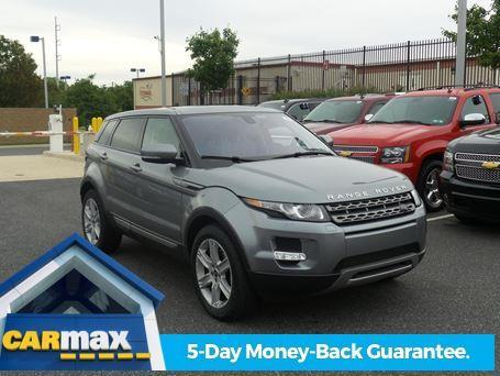 2013 land rover range rover evoque pure plus awd pure plus 4dr suv for sale in newark delaware. Black Bedroom Furniture Sets. Home Design Ideas