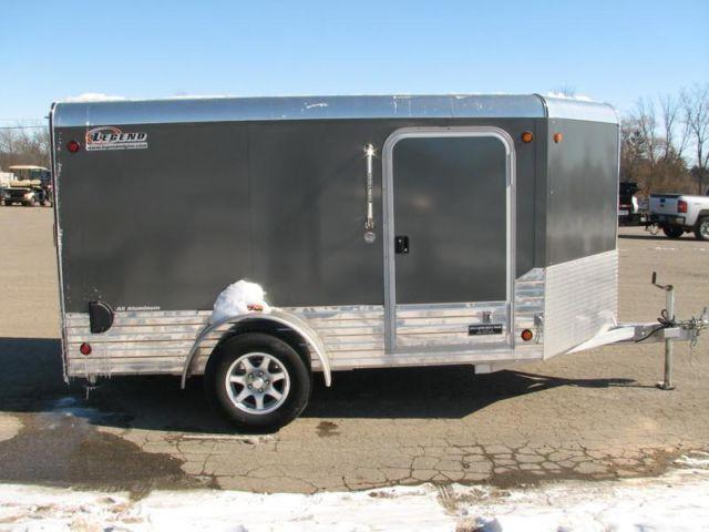 2013 Legend 6 X 13 Enclosed All Aluminum Low Rider Cargo