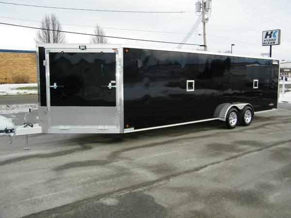 2013 Legend Explorer 7x29 V Nose Enclosed Trailer Cargo