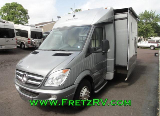 2013 Leisure Travel Unity Murphy Bed Slide Low Miles Mercedes Sprinter B Trades For Sale In