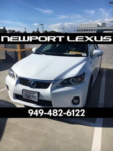 2013 Lexus CT 200h Base 4dr Hatchback