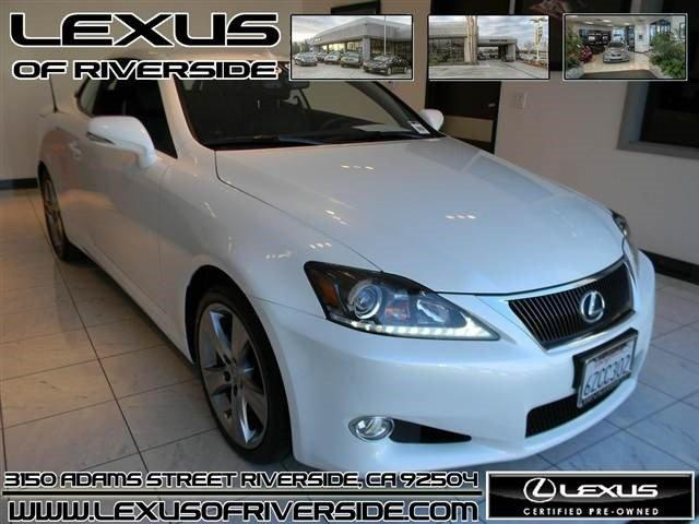 2013 lexus is 250c base riverside ca for sale in riverside california classified. Black Bedroom Furniture Sets. Home Design Ideas
