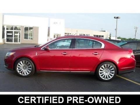 2013 Lincoln Mks 4 Door Sedan For Sale In Kent Ohio