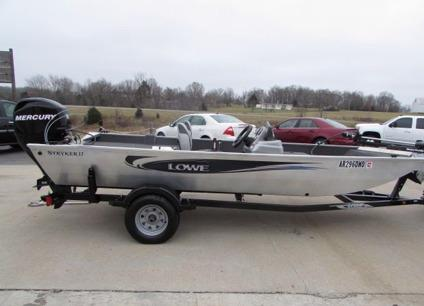 2013 Lowe Stryker Bass 17 Aluminum For Sale In