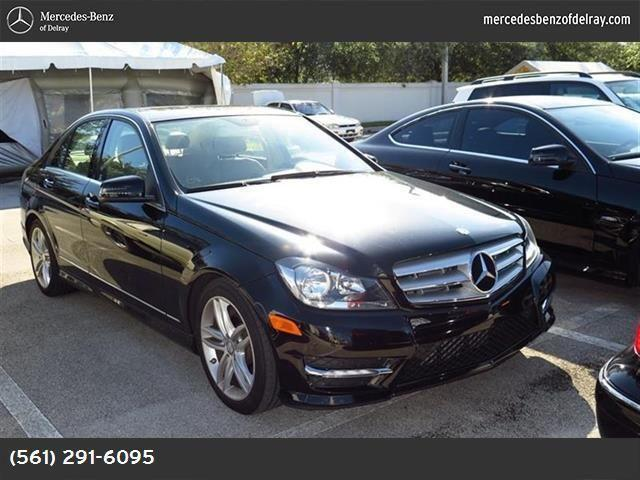 2013 mercedes benz c class for sale in delray beach for Mercedes benz delray beach