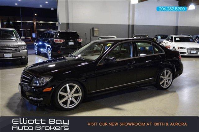 2013 mercedes benz c class awd c300 luxury 4matic 4dr for Mercedes benz for sale seattle