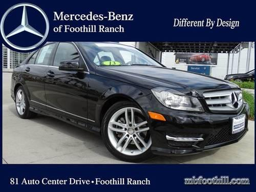 2013 mercedes benz c class c250 sport sedan 4d for sale in