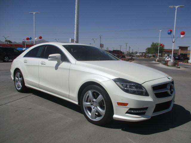 2013 mercedes benz cls cls 550 cls 550 4dr sedan for sale for Mercedes benz for sale el paso