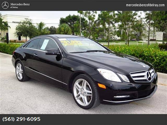 2013 mercedes benz e class for sale in delray beach for Mercedes benz delray beach